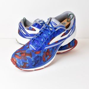 Brooks Launch 4 Boston Marathon Lobster Shoes